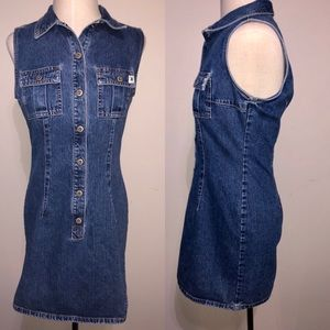Vintage Z.Cavaricci denim Mini dress 8